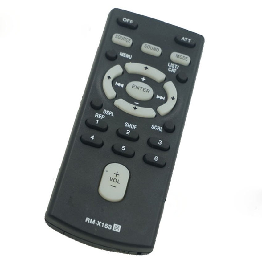 Remote Control Replace For SONY RM-X153 RM-X151 RM-X154 Glove Box Kept Sony Car Stereos