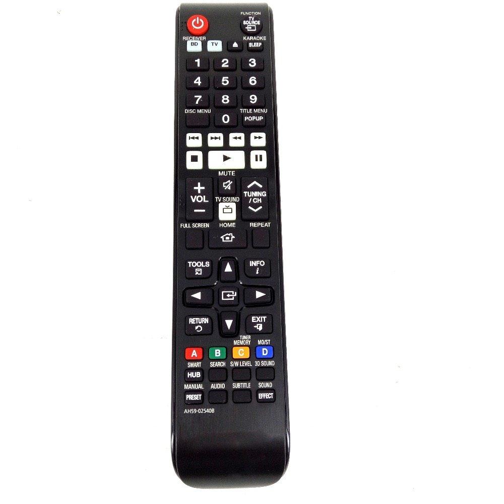 Original Remote Control For Samsung BD TV AH59-02540B Home Theater System