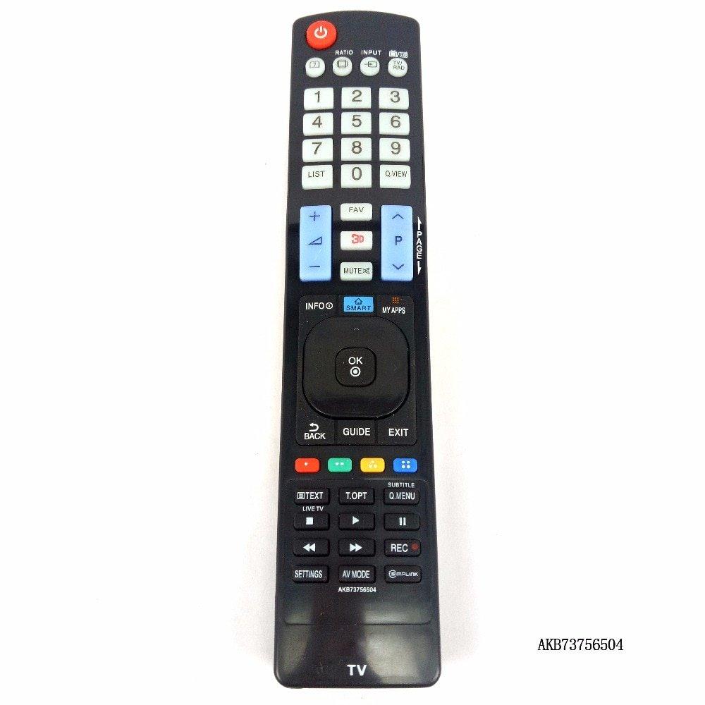 AKB73756504 Remote Control For LG Plasmsa LED LCD HDTV TV AKB73756510 AKB73756502 32 42 47 50 55 TV
