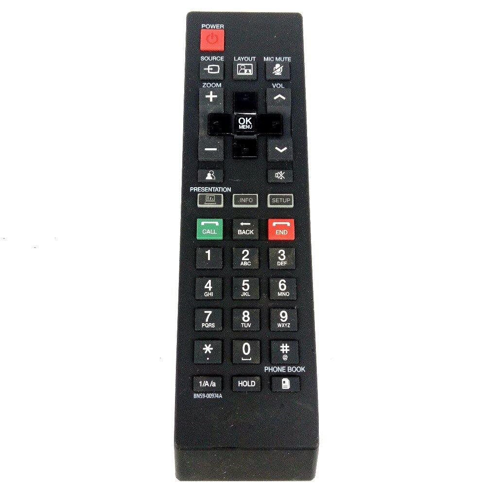 Used Original Remote Control For SAMSUNG BN59-00974A LCD MONITOR VC240 Fernbedieung