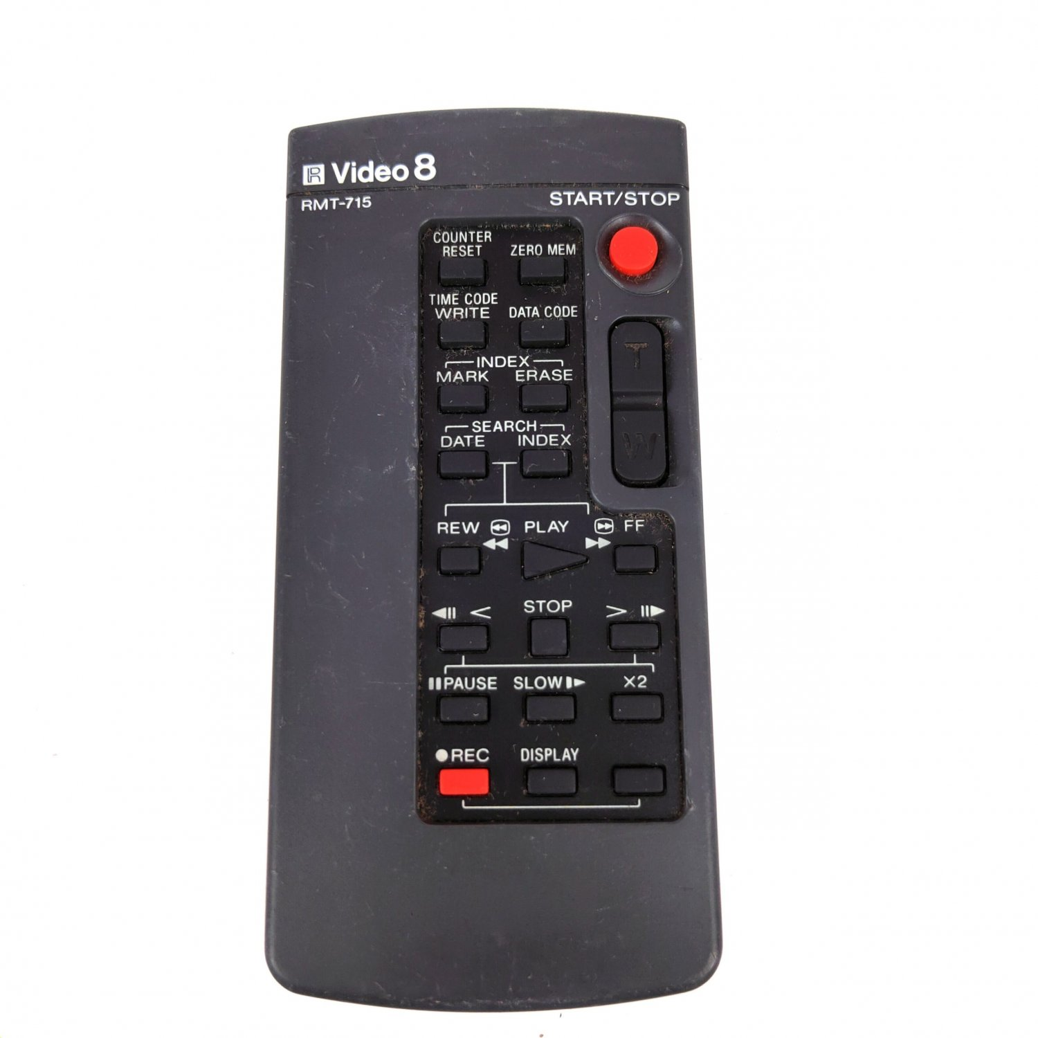 Used Original RMT-715 Remote Control For SONY CAMCORDER CCD-SC55 TR2300 TR3300 TR555