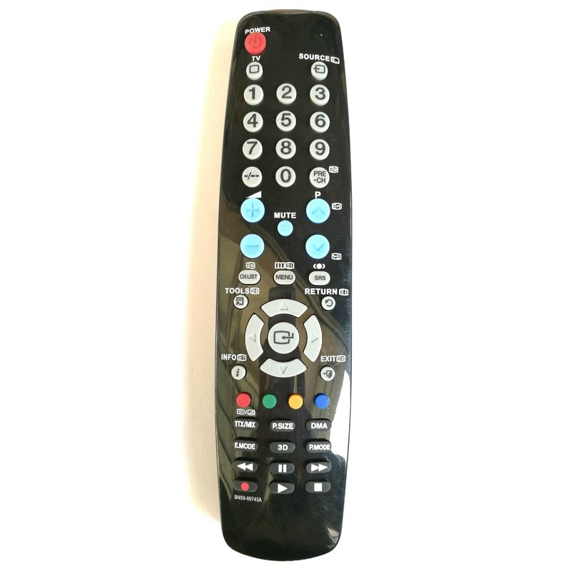 Universal Replacement Remote Control For SAMSUNG 3D LCD TV BN59-00743A BN5900743A TV