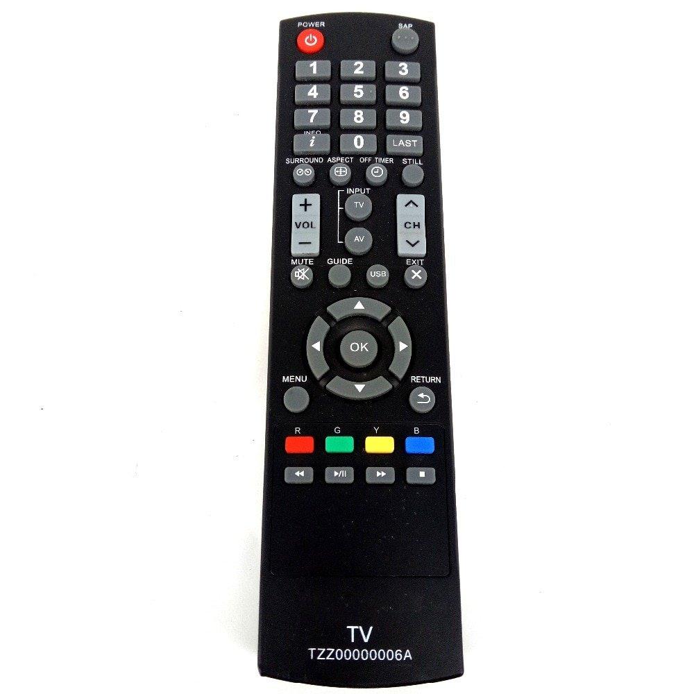 TZZ00000006A Replacement Remote Control For Panasonic TV TC-32LC54 TC-32LC5 TC-L32C5X