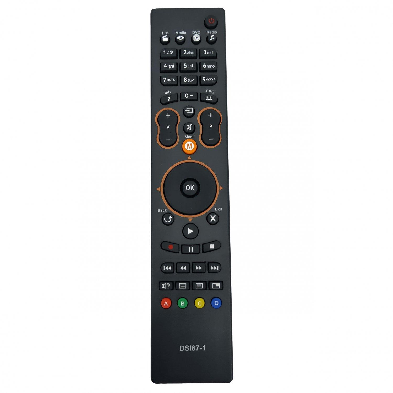 Replacement Remote Control For Sagemcom DSI87-1 HD SRC-4709 MPEG4 HD NTVPLUS