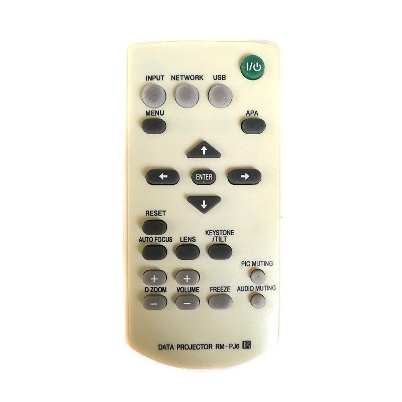 Replacement Remote Control For Sony RM-PJ6 Projector VPL-EX7 VPL-ES1 VPL-ES2 VPL-ES4 RM-PJ5 RM-PJ7 P