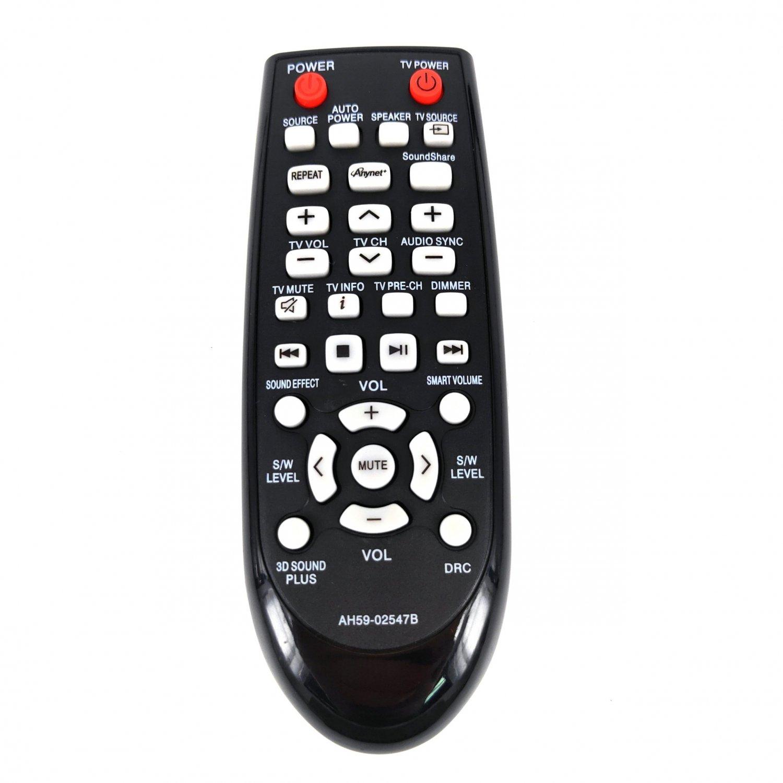AH59-02547B Replacement Remote Control For Samsung Sound Bar HWF450 PSWF450 HWF450ZA