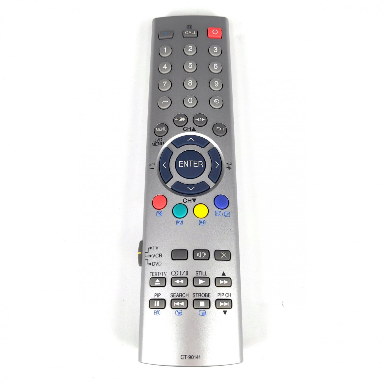Original Remote Control For TOSHIBA TV/VCR/DVD CT-90141 26WL36P 32WL36P 34VH9UR 43CV9UR 50CV9UR