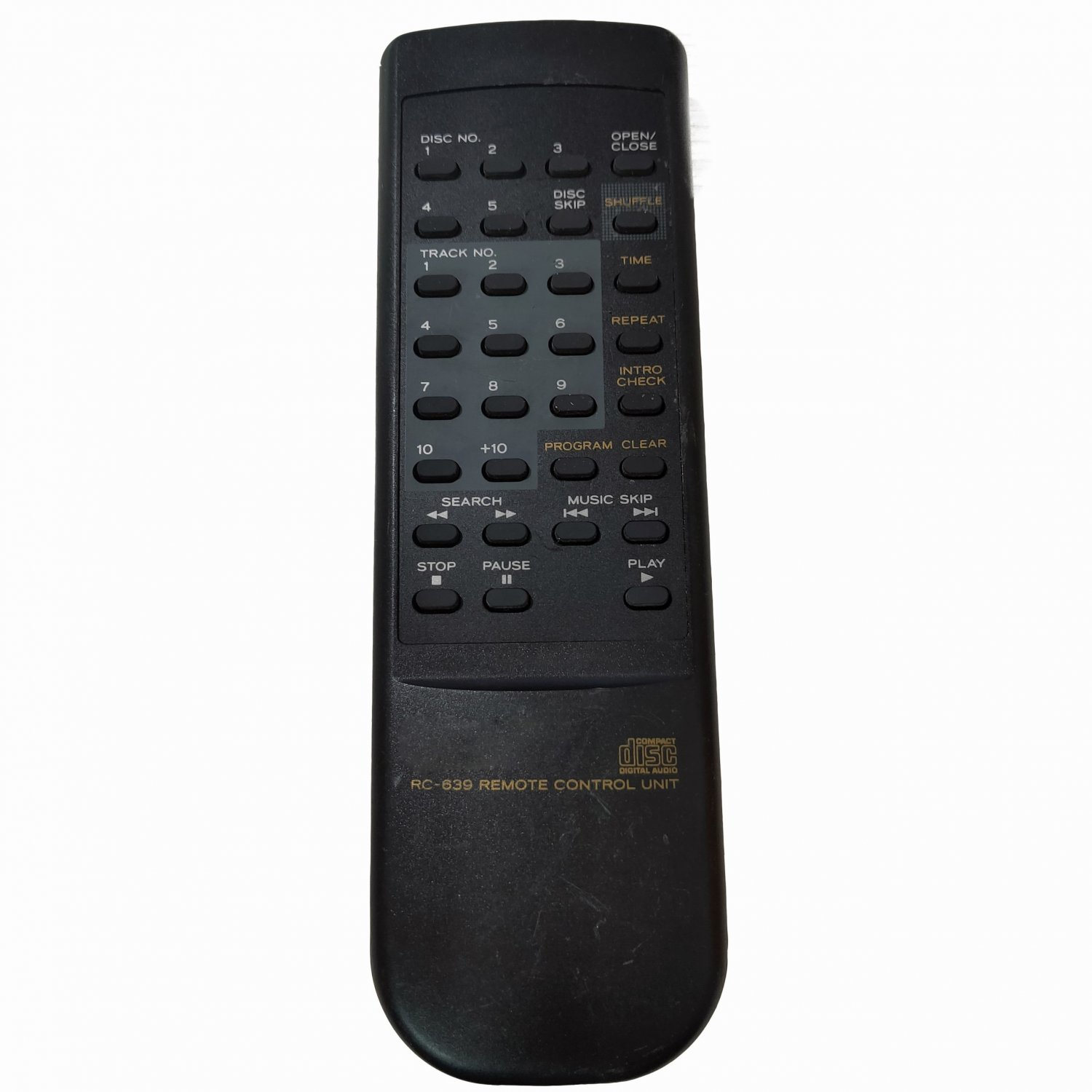 Used Original RC-639 Remote Control For TEAC CD Audio/Video Players