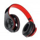Luminous LED bluetooth 5.0 Headset Foldable Long Capacity Noise Reduction Call Headphone Support FM