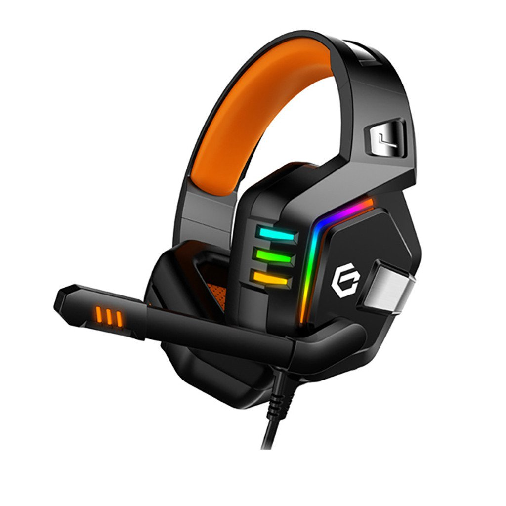 TBOTB G818 7.1 Channel Virtual Stereo Wired PC Gaming Headset Over Ear Headphones With Mic Revolutio