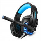 G9100 Gaming Headphones with Mic Stereo Deep Bass Headphone for PC Computer Gamer Laptop Wired Heads