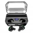 [True Wirsless] T9 Digital Display Earbuds Binaural Call bluetooth 5.0 Waterproof Earphone Stereo Ba