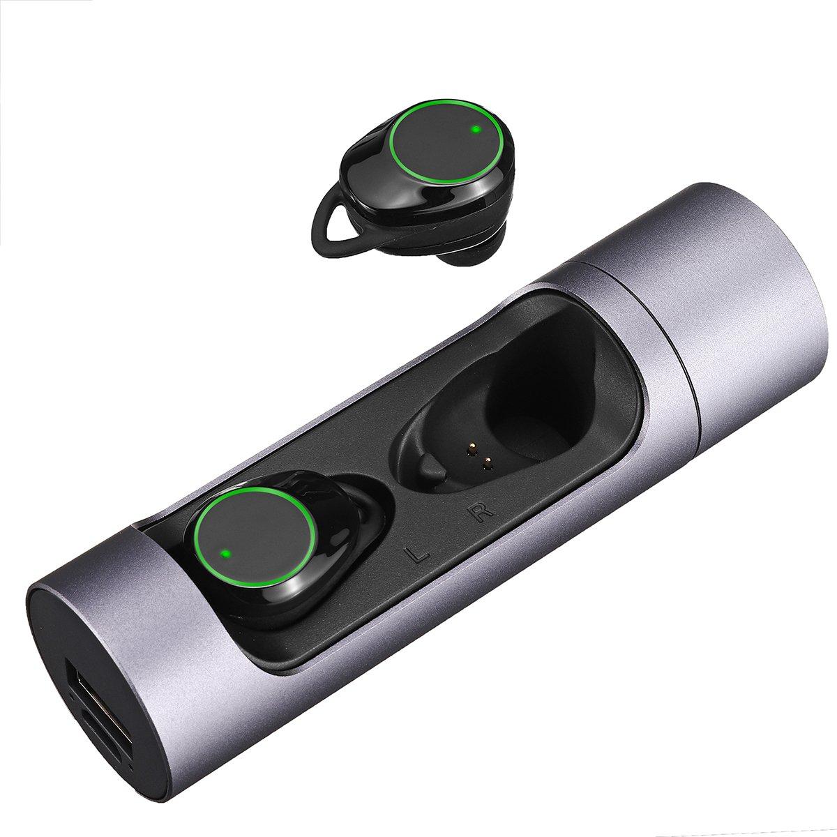 [True Wireless] X8 TWS bluetooth 5.0 HIFI Earphone Smart Breathing Light Touch Control IPX6 Waterpro