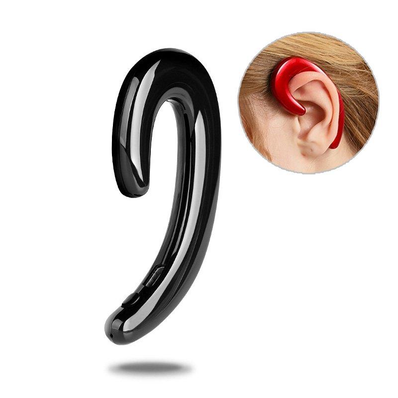 K8 Bone Conduction Earhook Wireless bluetooth Earphone Noise Cancelling Stereo Headphone with Mic
