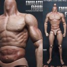 """1/6 Scale Action Figure Male Nude Muscular Body 12 Plastic Toy for TTM18/19"""""""""""
