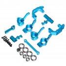 1:10 Upgrade Car Part Kit Aluminum Alloy Blue Remote Control Car Accessories
