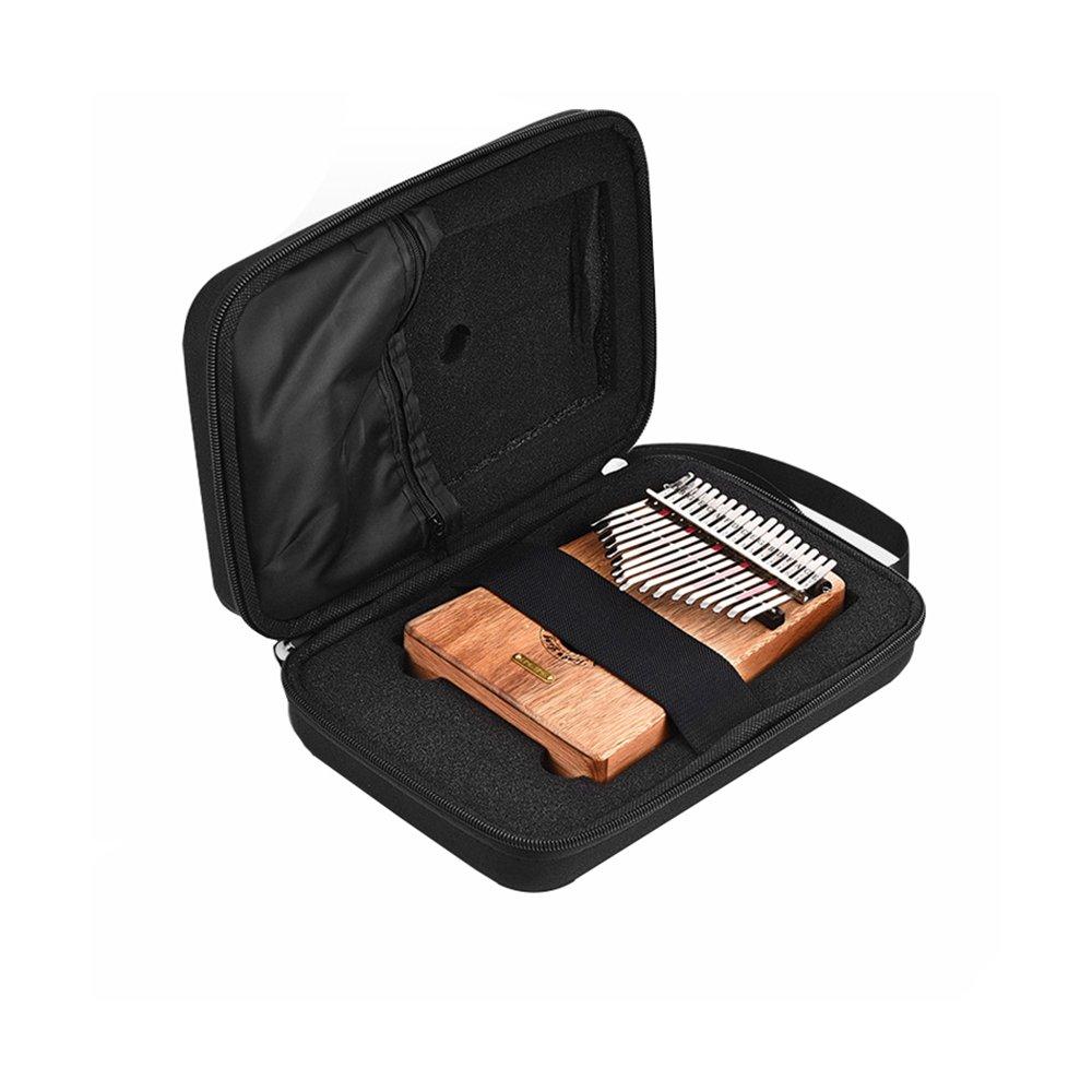 10 Keys 17 Keys Kalimbas Case Thumb Piano Mbira Portable Box Bag
