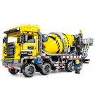 1143PCS Senbo Engineering Vehicle Mixer Sets Educational Blocks Toys