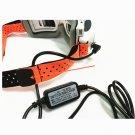 2pcs Fatshark FPV Goggles Head Strap Replacement Orange Lycra Fabric for FPV RC Drone