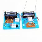 2PCS Small Hammer DIY Toy Model Wireless Telegraph Transmitter Receiver Module Educational Kit