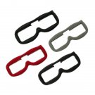 3PCS Upgraded Replacement Faceplate Soft Flannel Fabric Pad KIT For Fatshark FPV Goggles