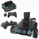 4WD Smart Car Chassis Kit with Motor Driver UNO Development Board and PS2 Wireless Controller
