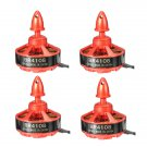 4X Racerstar Racing Edition 4108 BR4108 600KV 4-6S Brushless Motor For 500 550 600 RC Drone FPV Raci