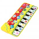 5 Modes Musical Kid Piano Toddler Play Mat Baby Animal Educational Toys
