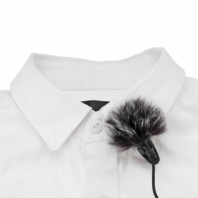 5 PCS/Set Lapel Microphone Mic Windscreedn Wind Shield Wind Fur Muff For Lapel Lavalier