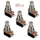 5Pcs Electric Guitar Effect Momentary Push Button Stomp Foot Pedal Switch