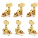 6pcs Gold Guitar String Tuning Pegs Tuners Machine Heads Guitar Parts