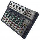 7 Channel Professional Stage Live Studio Audio Mixer USB Mixing Console DJ KTV