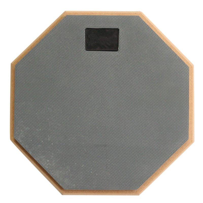 8 Inch Rubber Wooden Beginner Drum Practice Silencer Pads Quiet Practice Dumpad