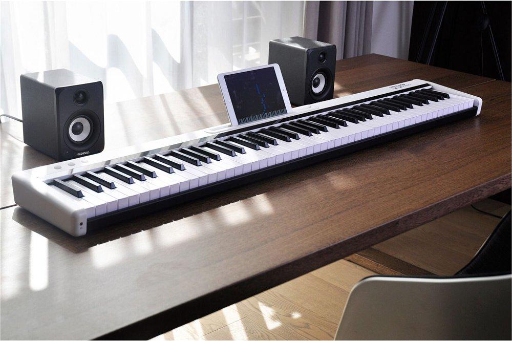 88 Keys Smart Electronic Piano Light Up Keyboard Smart Self-study Piano for Beginners