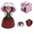 9CM Mini Cupcake Princess Surprise Doll Dress Sweet Smell Cup Cake Girls Dolls Funny Playing House G