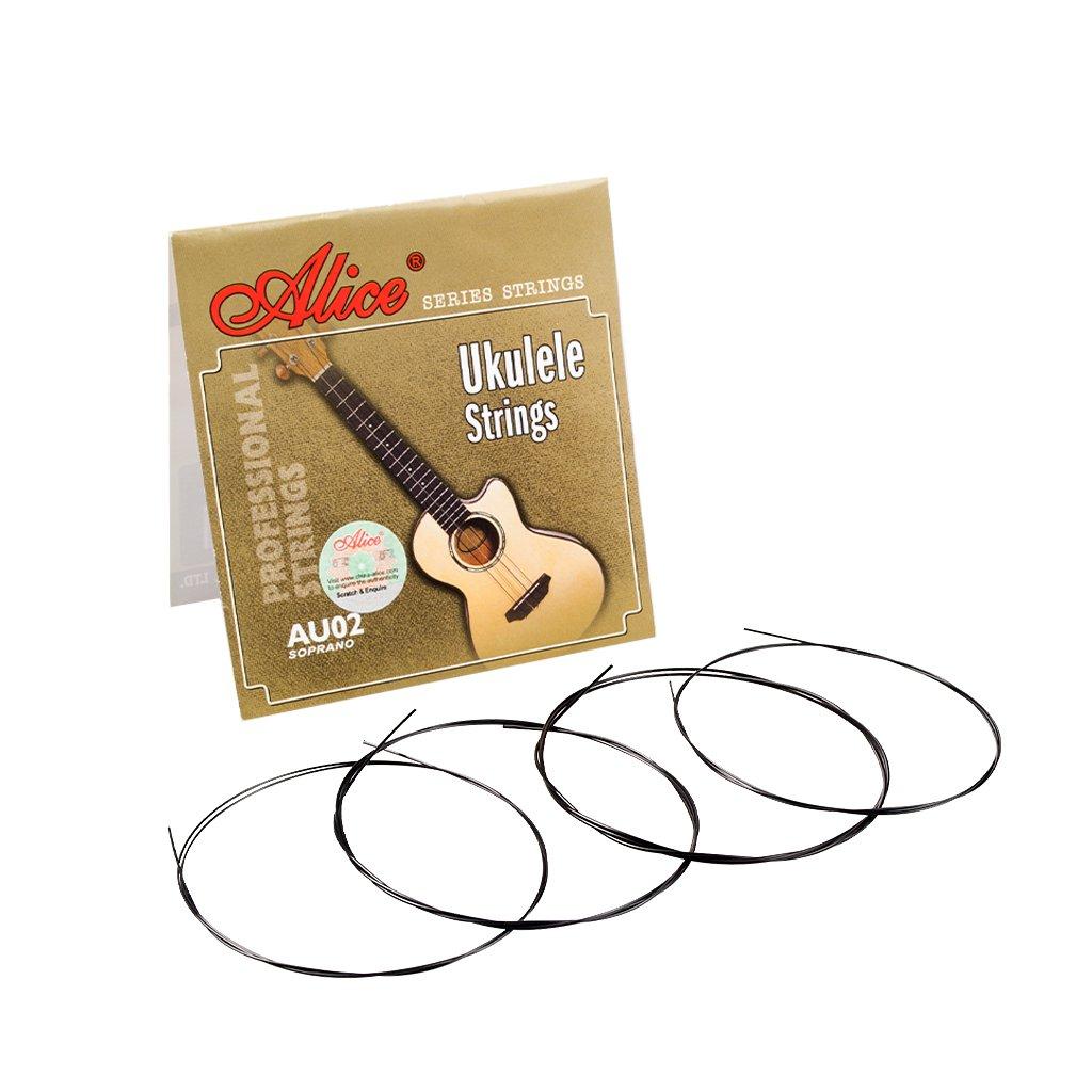 Alices 1 SET Professional Ukulele Strings Black Nylon Or Clear Nylon 4 Strings AU04 Mini Hawaiian Gu