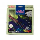 Alices A609C Guitar Strings Colorful 4 Strings Hexagonal Core Nickel Alloy Wound Electric Bass Strin