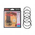 Alices AC136BK-H 6pcs/set Classical Guitar Strings AC136BK With Black Nylon 6 Strings Guitar Accesso