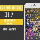 IOS 14 Jojos bizarre Adventure Anime App Icons - Aesthetic Iphone Home Screen - IOS14 App Covers