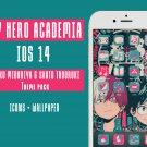 IOS14 Anime App Icons - My Hero Academia Aesthetic Iphone Home Screen - IOS 14 App Covers