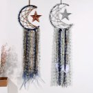 Moon Dreamcatcher Copper Wire Dream Catcher White