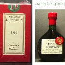 DUPEYRON 1969 ARMAGNAC RARE FRENCH BRANDY 50 ml mini