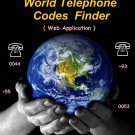 World Telephone Codes Finder Web Application Software