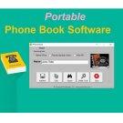 Phone Book Portable Software