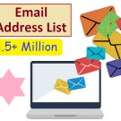3.5 million email list database for email marketing campaign