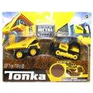 Tonka Metal Movers Mighty Dump & Bulldozer Construction Vehicles