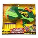Buzz Bee Air Warriors Rads 12 Automatic Soft Dart Gun