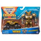 Monster Jam Creatures Max-D & Maximus Set