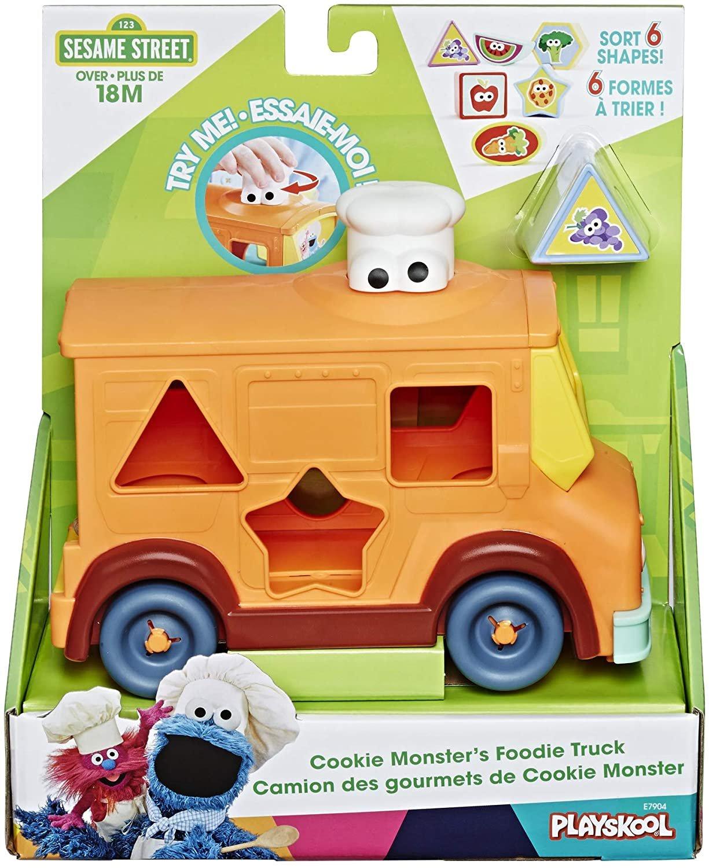 Playskool Sesame Street Cookie Monster's Foodie Truck