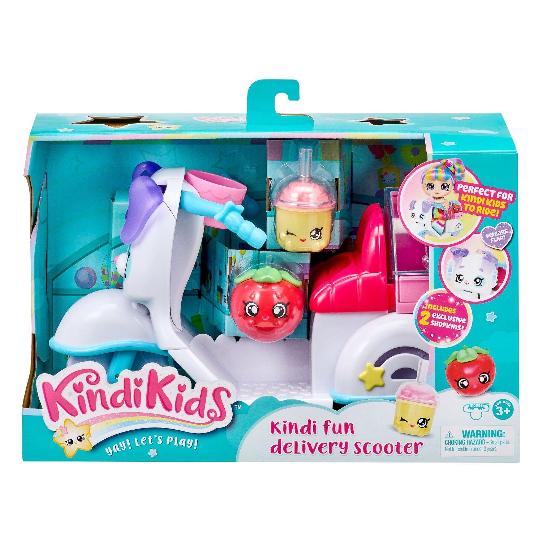 KindiKids Kindi Fun Delivery Scooter Play Set